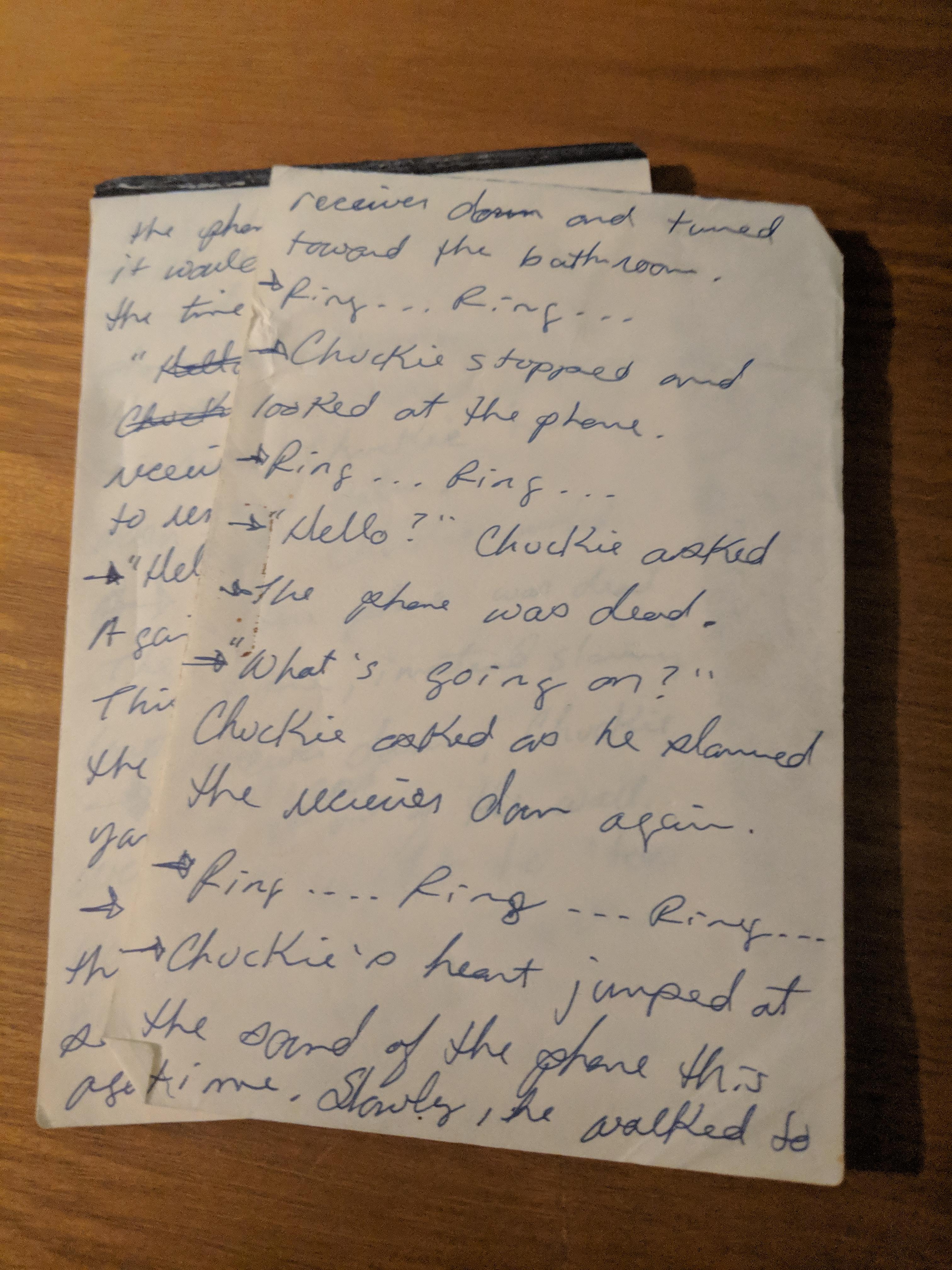 Chuckie Manuscript.jpg